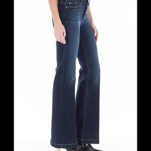 32 Waist Fidelity Octavia Trouser Jean Smokey Blue